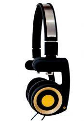 HEADPHONE AGEM AHF 200  - Porta Pro Golden
